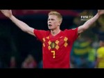 Semi-Final one is confirmed - France v Belgium!