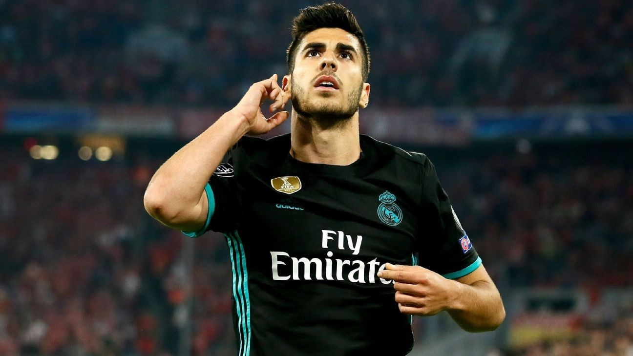 Real Madrid's Marco Asensio is staying despite Liverpool links ...