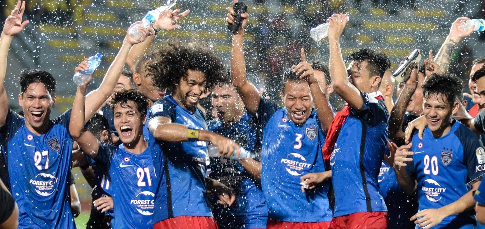 Darul Ta'zim claim fifth league title