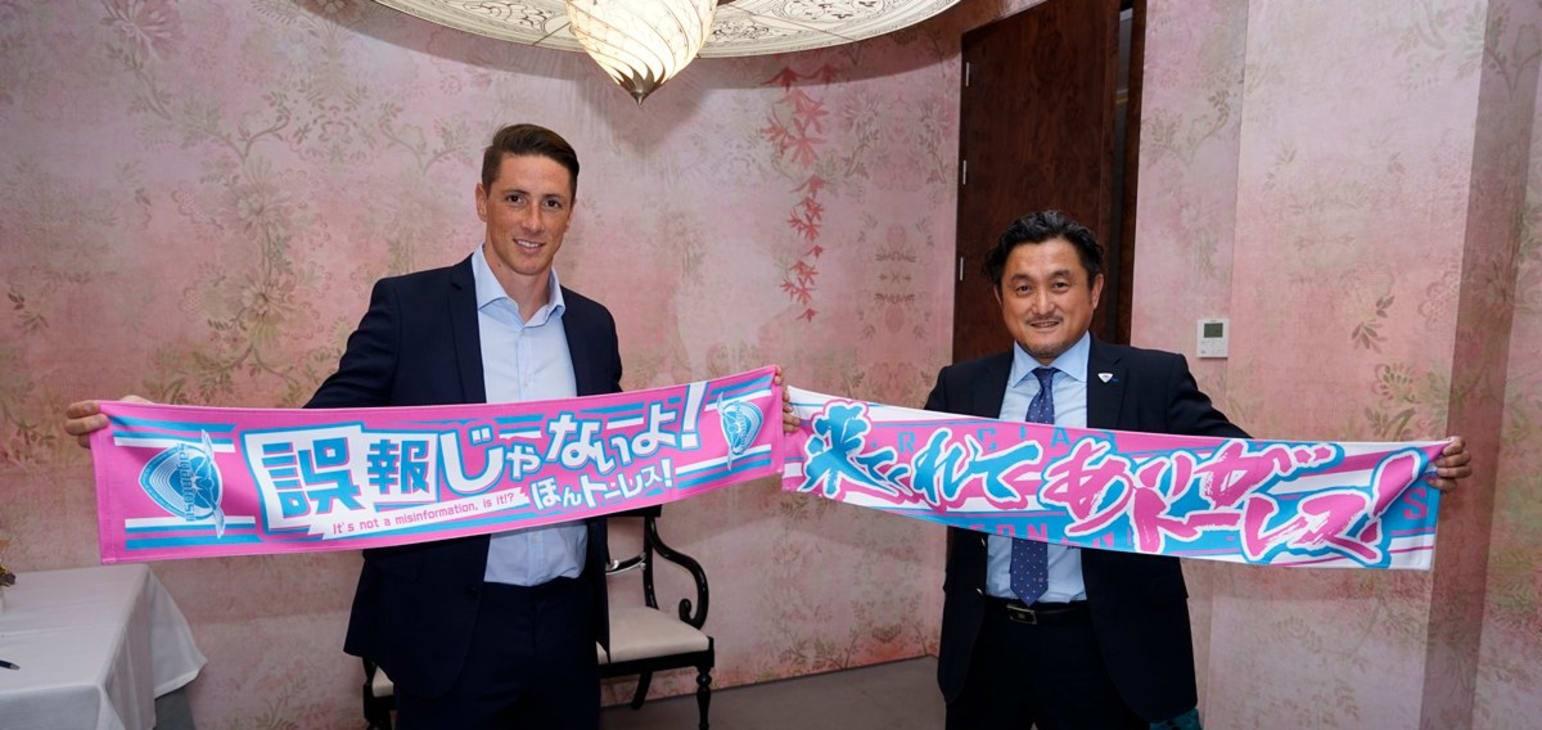 Torres joins Japan's Sagan Tosu