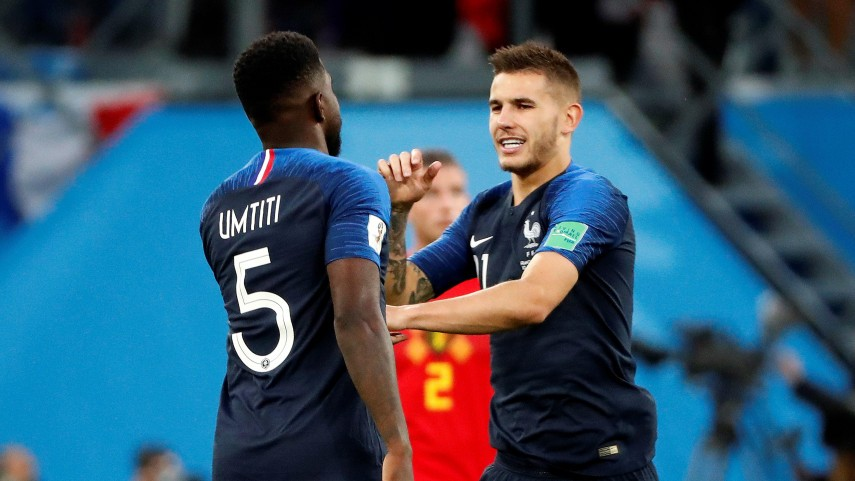 Griezmann, Varane, Umtiti, Lucas, Dembele & N'Zonzi are in the World Cup Final 2018!