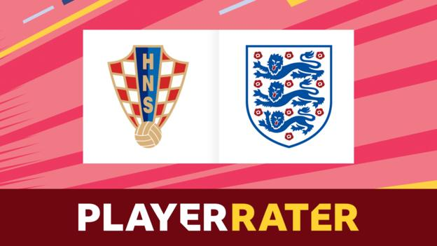 World Cup: Croatia v England - rate the players