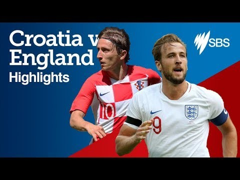 CROATIA v ENGLAND HIGHLIGHTS - FIFA World Cup