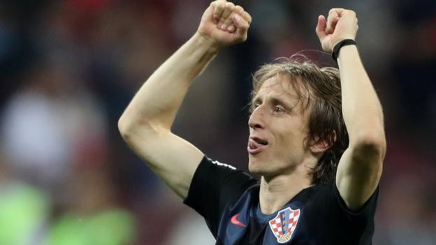 World Cup: Croatia were 'underestimated' by English critics - Luka Modric