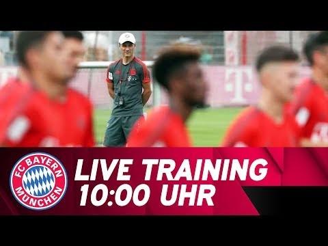 🔴 LIVE | FC Bayern Training mit Kovac, Gnabry & Alaba!