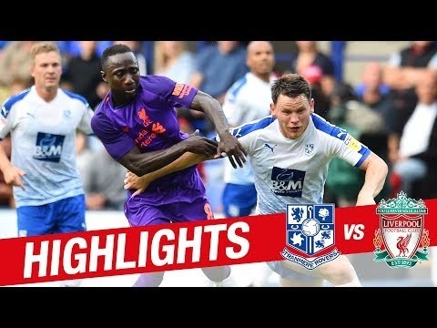 Highlights: Tranmere 2-3 Liverpool FC | Lallana inspires friendly win