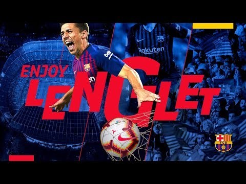 #ENJOYLENGLET | Lenglet is Barça's new signing