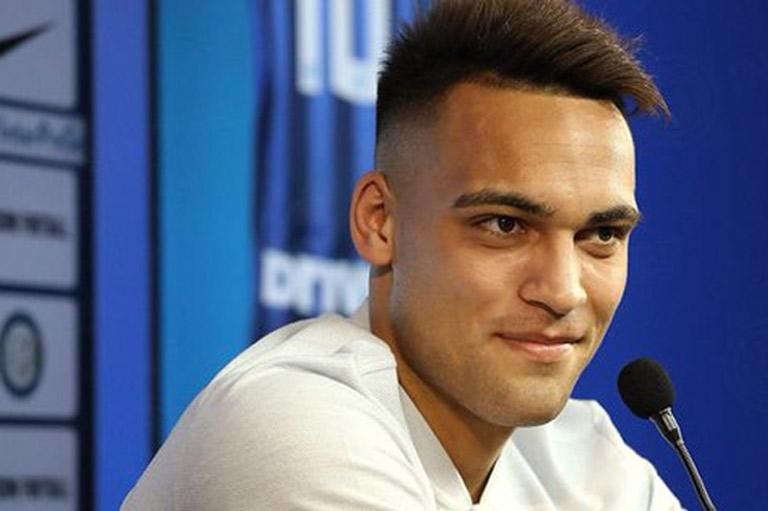 "Serie A                    LAUTARO MARTINEZ: ""INTER'S PROJECT CONVINCED ME RIGHT AWAY"""