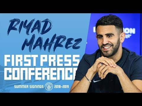 RIYAD MAHREZ | FIRST PRESS CONFERENCE | PART 1