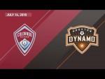 HIGHLIGHTS: Colorado Rapids vs. Houston Dynamo | July 14, 2018