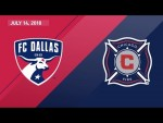 HIGHLIGHTS: FC Dallas vs. Chicago Fire | July 14, 2018