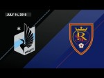 HIGHLIGHTS: Minnesota United FC vs. Real Salt Lake | July 14, 2018