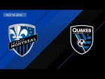 HIGHLIGHTS: Montreal Impact vs. San Jose Earthquakes | July 14, 2018