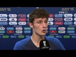 Benjamin PAVARD - Post Match Interview - 2018 FIFA World Cup™ FINAL