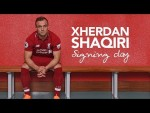 Shaqiri's first day at LFC | Exclusive behind-the-scenes access