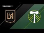 HIGHLIGHTS: Los Angeles Football Club vs. Portland Timbers   July 15, 2018
