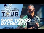 LEROY SANÈ BACK IN TRAINING | US TOUR 2018 | CHICAGO