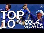 Top 10 Gianfranco Zola worldies! | Chelsea Tops