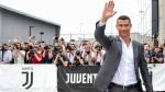 Cristiano Ronaldo arrives at Juventus and hysteria encompasses Turin