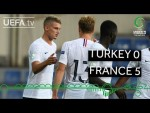 #U19 EURO highlights: Turkey 0-5 France