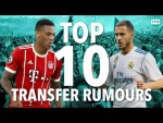 Which MASSIVE Club Want PAUL POGBA?  | Top 10 TRANSFER RUMOURS | Also Feat. Hazard & Martial!