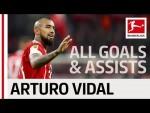 Arturo Vidal - All Goals and Assists 2017/18