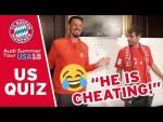 FC Bayern US Quiz w/ Javi Martínez & Sandro Wagner