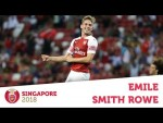 Compilation: Emile Smith Rowe   ICC 2018: Arsenal v Atletico Madrid   #AFCTour2018