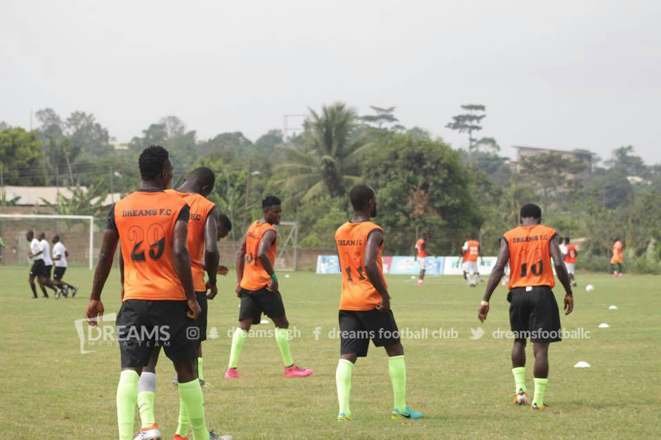 Dreams FC resumes training
