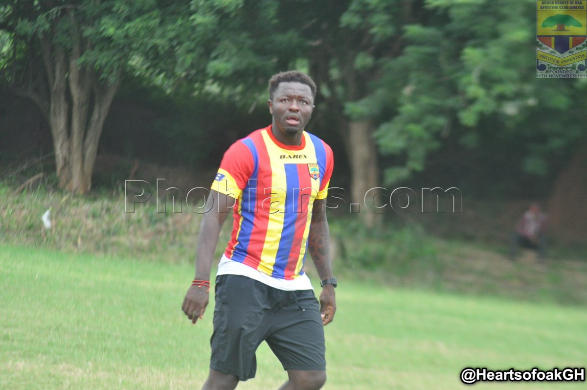PICTURES: Sulley Muntari excels in Hearts of Oak friendly win over Bechem United