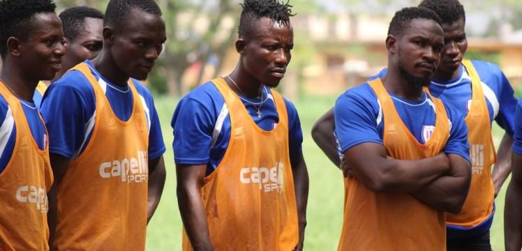 Inter Allies resumes training after three-week break