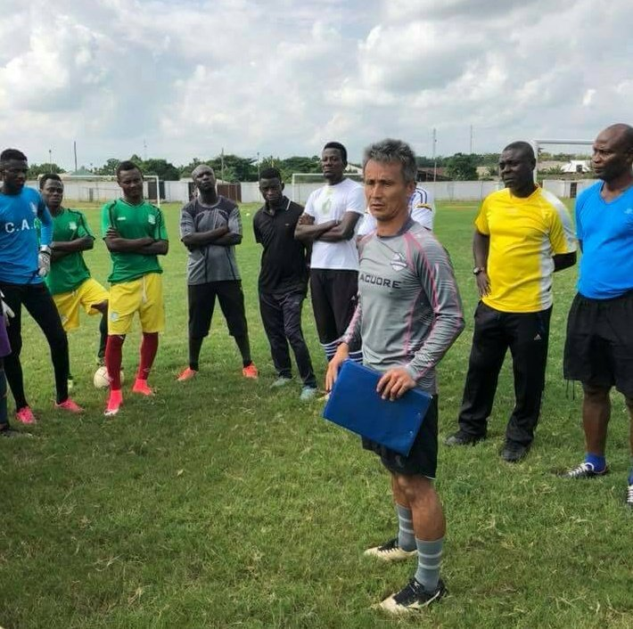 2018 CAF CONFED. CUP: Kenichi Yatshuhashi optimistic of beating AS Vita