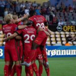 Ghanaian duo Antwi and Sadiq make Europa Cup debut for FC Nordsjælland