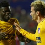 Antoine Griezmann's decision to stay at Atletico Madrid delights Thomas Partey