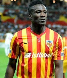Asamoah Gyan scores as Kayserispor beat Akhisarspor 1-0