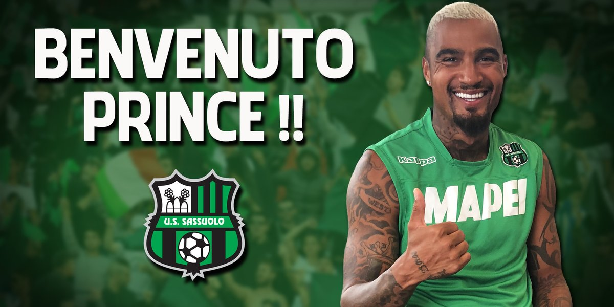 Kevin-Prince Boateng is a top player: U.S Sassuolo coach Roberto De Zerbi
