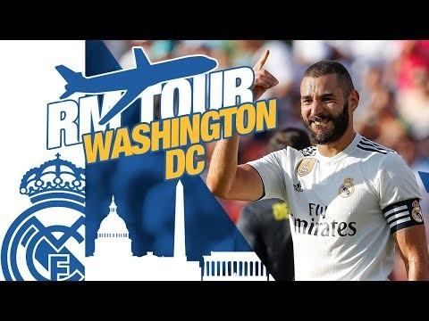 Real Madrid Usa Tour Skills Goals Juventus And Winning Footballghana