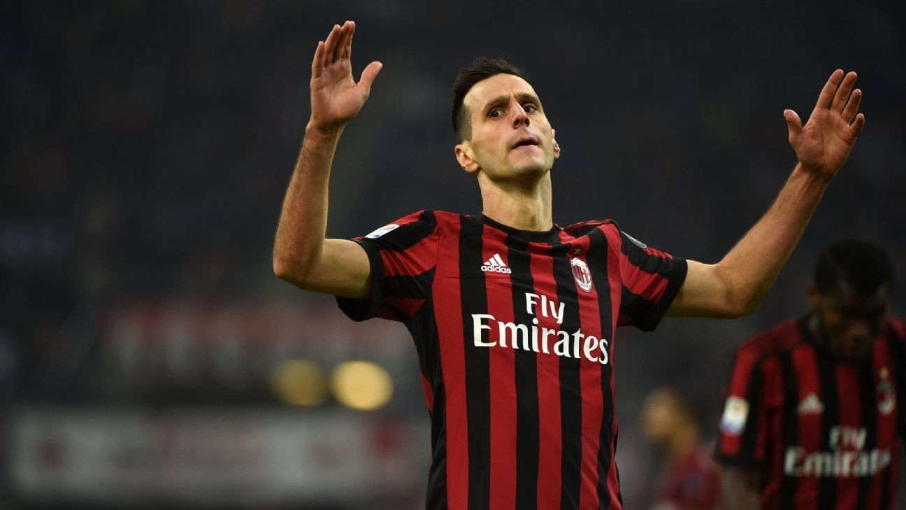 Nikola Kalinic signs for Atletico Madrid from AC Milan on three-year deal