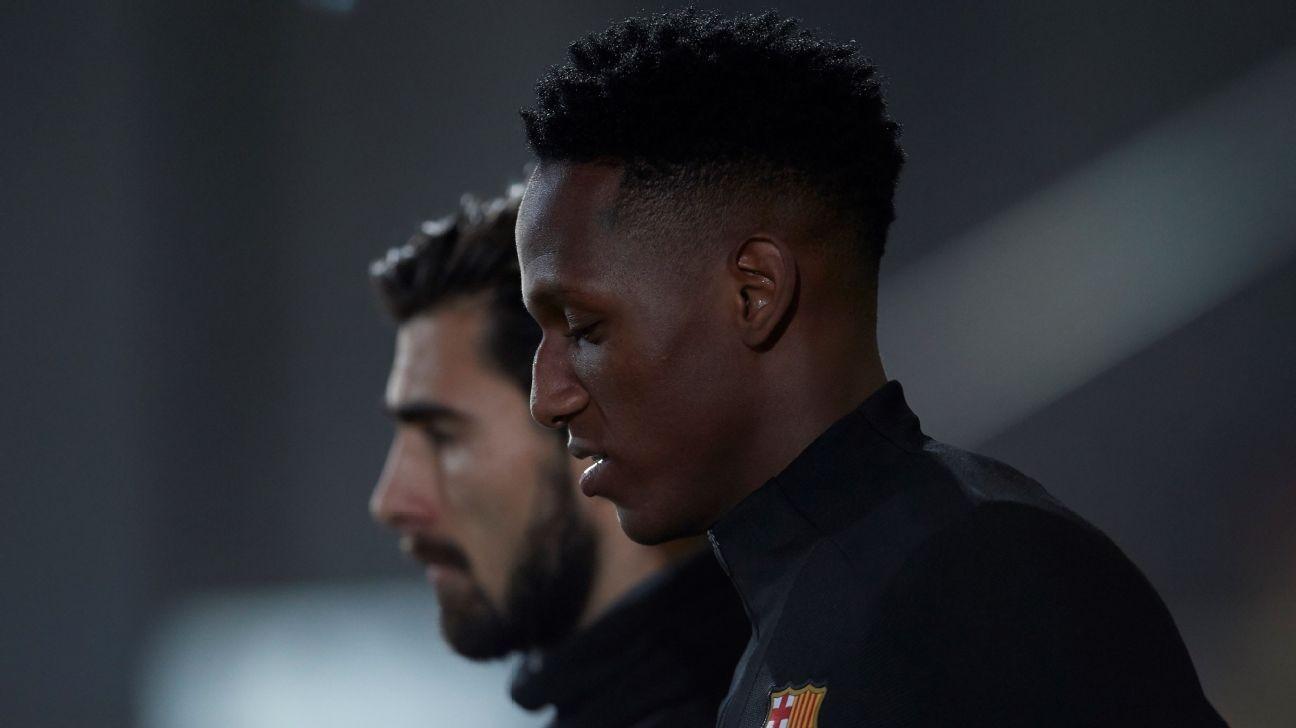 Everton sign Barcelona's Yerry Mina, Brazil international Bernard