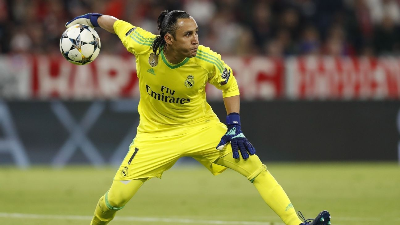 Keylor Navas will give Thibaut Courtois plenty of fight for Real's No. 1 shirt