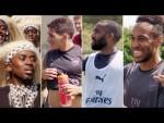 Surprise guests at Arsenal training centre | Visit Rwanda