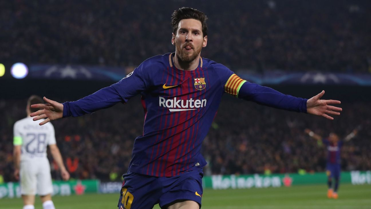 Barcelona name Lionel Messi new captain to replace Andres Iniesta