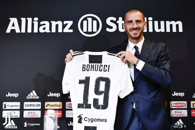 """Serie A TIM                    BONUCCI: """"DELIGHTED TO BE BACK"""""""