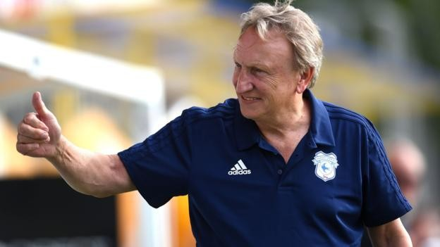 Cardiff City boss Neil Warnock bids to upset the odds in the Premier League