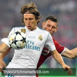REAL MADRID offer Luka MODRIC rich new deal for stopping him from joining Inter