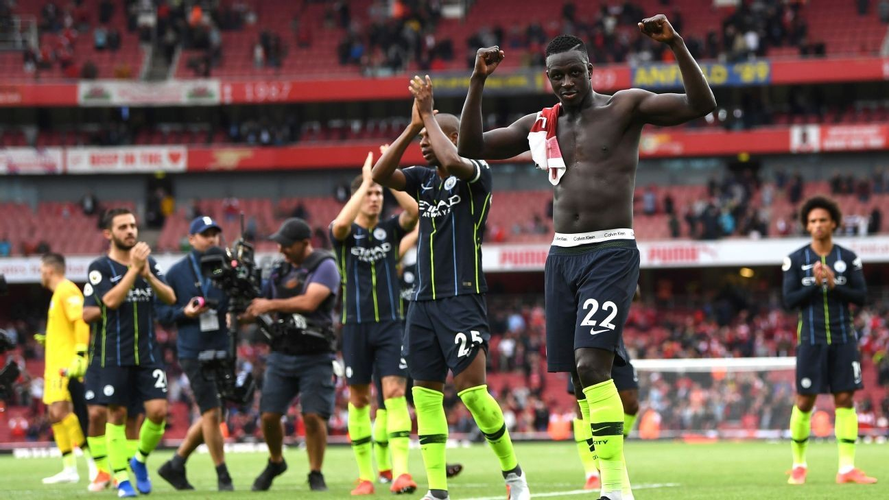 Benjamin Mendy's rout of Arsenal shows that Pep Guardiola's Man City are evolving