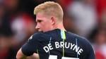 Kevin de Bruyne: Man City midfielder suffers knee injury in training