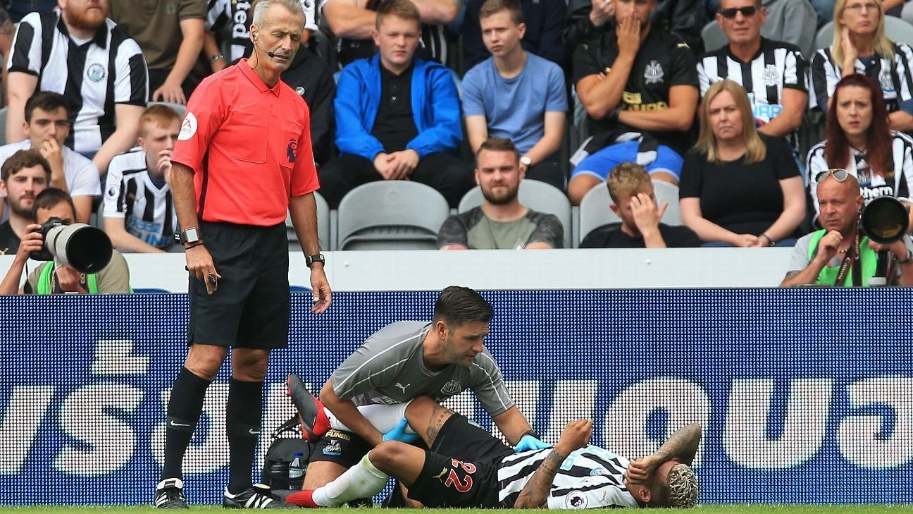 DeAndre Yedlin knee injury 'not serious,' Newcastle confirms