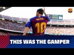 [BEHIND THE SCENES] The season at Camp Nou starts here