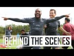 Shooting practice and the Rondo | Behind the scenes